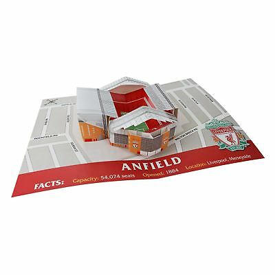 Liverpool FC Red Football 3D Stadium Card LFC Official