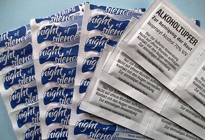 365 nasal strips with 365 alcohol-pads for skin cleaning II Breathe Right better