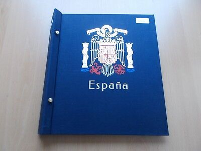Spain - 1850 to 1941 DAVO pre-printed album & sparse collection. See pics below.