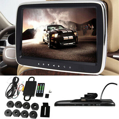 "9"" Car Display Full HD MP5 Headrest Monitor Rear Seat for For Car/Vehicle"