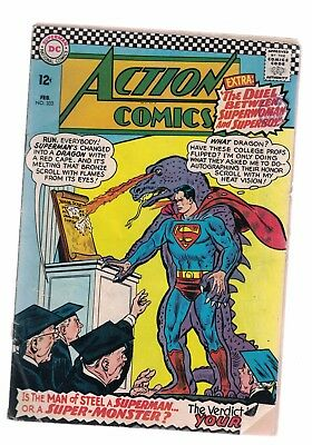 DC Comics Action comics no 333 February 1966 12c USA