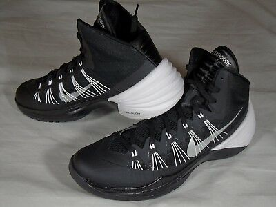 13d43a188524 New Mens Nike Hyperdunk 2013 TB Basketball Shoes Sneakers Black White 584433