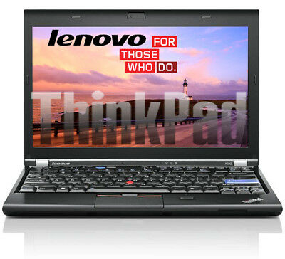 Lenovo Thinkpad X220 Intel Core i5 2,50 Ghz 4GB 320GB 12 zoll WEB   NO -AKKU  B