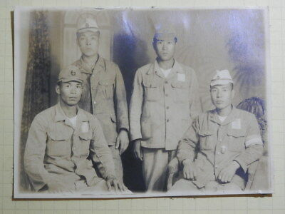 WW2 Japanese Assembly picture of the Shanghai land battle corps soldier.VeryGood