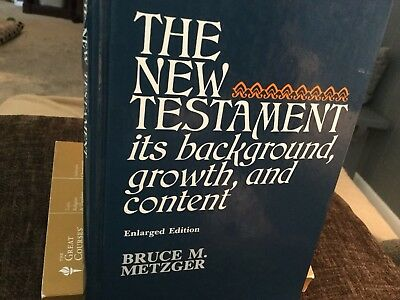 The New Testament It's Background, Growth, Content- Hell, The Rest Of The Story