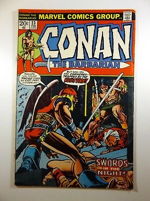 Conan The Barbarian #23 1st Appearance of Red Sonja Marvel Key Comic! Solid VG+!