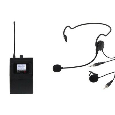 W Audio RM 30BP UHF Beltpack Headset Add On (863.1Mhz) for Microphone Systems