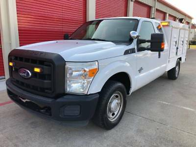 2011 Ford F-250 XL Plus DIESEL WHELEN FEDERAL SIGNAL LED LIGHT LONG BED GOVERNMENT ANIMAL CONTROL POLICE