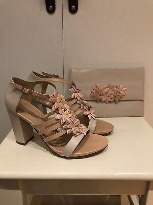 Phase Eight Shoes Size 6 And Matching Clutch Bag