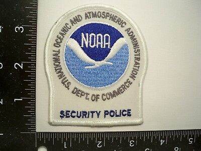 Federal NOAA HQs Security Patch Washington, DC Commerce Police Natl Oceanic DNR