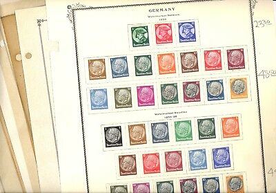 GERMANY, Reich & others, Semi-Postals, Excellent Assortment of OLD Stamps