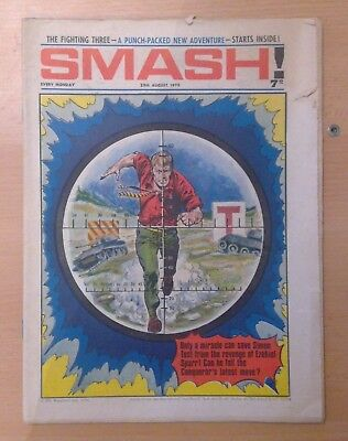 Smash comic 29th August 1970 vg+ condition