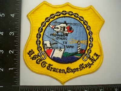 Old Federal Coast Guard USCG TRACEN Cape May, NJ Patch Lighthouse Cheese Cloth