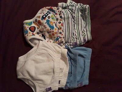 Bundle x 7 Bambino Mio potty toilet training pants excellent cond used 2-3 years