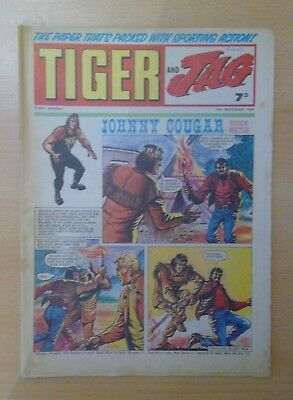 TIGER and JAG COMIC 29th November 1969 - Roy of the Rovers - vg+ condition