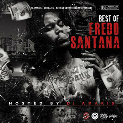 Fredo Santana Best of Fredo Santana Mixtape CD Sealed Front/Back Artwork 2018