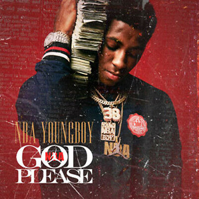 NBA Youngboy God Please Mixtape CD Sealed Front/Back Artwork 2018