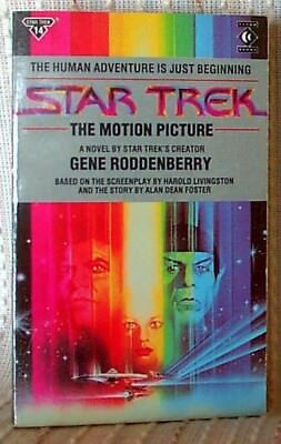 STAR TREK: THE MOTION PICTURE, Gene Roddenberry, UK pb 1988 (9781852860691)
