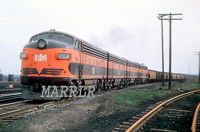 RR Print-Bessemer & Lake Erie B&LE 702 at Albion Pa 4/19/1952