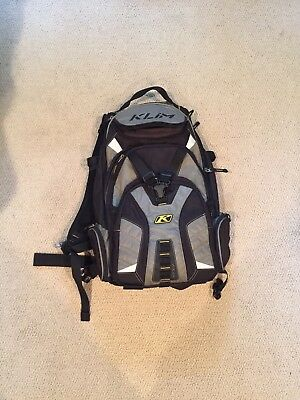 Klim Nac Pak Snowmobile Mountain Backpack Gear Bag with hydration system