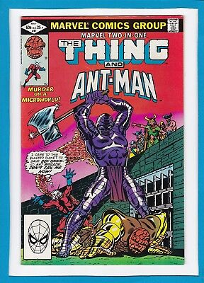 Marvel Two-In-One #87_May 1982_Very Fine_The Thing_Astonishing Ant-Man!
