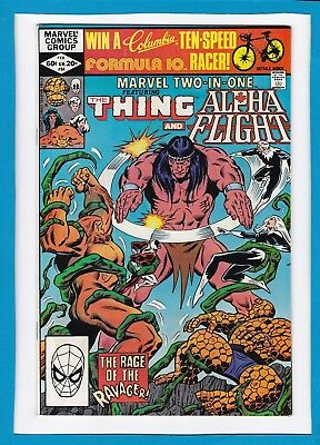 Marvel Two-In-One #84_February 1982_Very Fine+_The Thing_Alpha Flight!