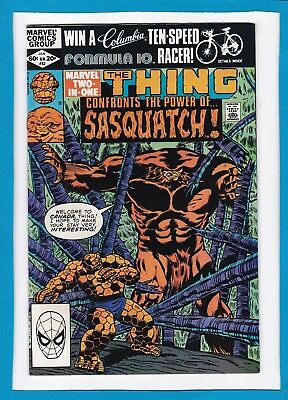 Marvel Two-In-One #83_January 1982_Vf/nm_The Thing_Sasquatch (Alpha Flight)!