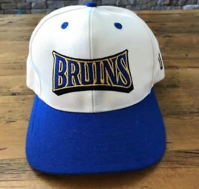 buy online df593 b9803 UCLA Bruins Baseball Hat Snapback Cap White Embroidered Letters Reebok Wool  NCAA
