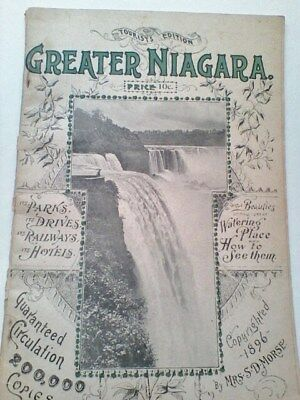 Circa 1896 Tourist Edition of Greater Niagara NY by Mrs. S.D. Morse (2001)