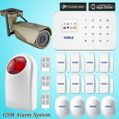 Outdoor WiFi IP Camera For KERUI G18 Wireless GSM SMS Home Alarm Security System