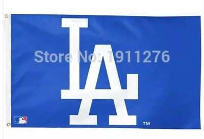 Los Angeles Dodgers LA 3x5 Ft Flag Baseball New In Packaging Kershaw Seager