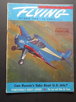 10/1950 Flying Piper PA-20 Pacer Check Pilot Report / Paraplane / L-5 L-16 L-17