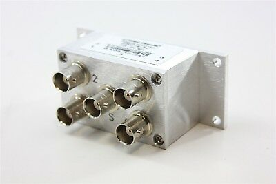 Mini-Circuits .25 to 250Mhz BNC Microwave Combiner Power Splitter ZSC-4-3+