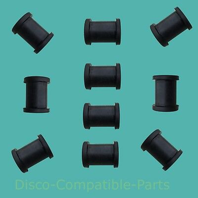 Land Rover Series + Lightweight Brake Pipe Rubber Grommets 6860L Bearmach x 10