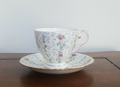 Royal Grafton Chantilly Pink Tea Cup and Saucer
