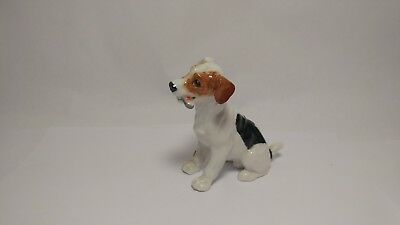 Royal Doulton HN1159 Jack Russell Dog Figurine With Bone In Mouth