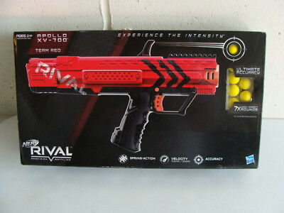 Hasbro Nerf Rival Apollo Xv-700 Team Red Blaster, Magazine 7 Rounds - New Sealed