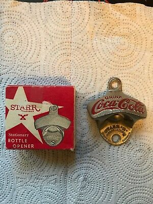 Vintage Coca Cola Starr X Wall Mounted Bottle Opener Marked 7 Made In W Germany