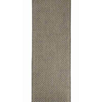 Hallway Runner Carpet Rug Silver 67cm Wide Rubber Back Seaspray Pindot Per Metre