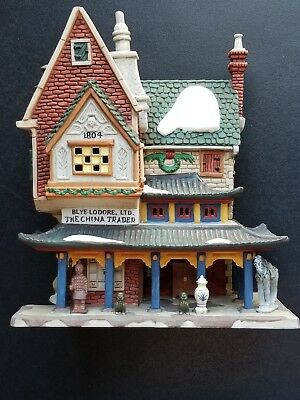 Department 56 Dickens' Village- The China Trader #58447 New Retired