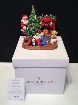 Royal Doulton Holiday Traditions Christmas Morning Figure Hn5359 Box Cert R2095