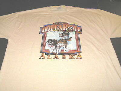 1998 Iditarod Trail Sled Dog Race - Anchorage to Nome Alaska T-Shirt New! XXL 2X