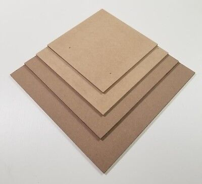 """CUSTOM BOARDS 12""""14""""16""""18"""" SQUARE 1/4 thick out of MASONITE  BOARDS"""