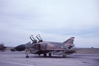 Usaf  F-4D 66-7668 184 Tftg   Original Color Slide Kodachrome