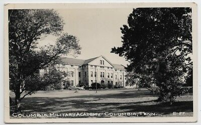 Columbia,Tennessee-Columbia Military Academy-c1930s Real Photo jh13