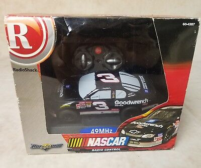 Goodwrench #3 NASCAR Dale Earnhardt R/C car Jakks Pacific Radio Shack 1:30 scale