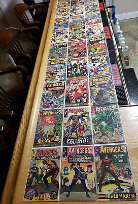 Avengers (28 Total Books)  Silver Age #18 to #41 Run, Plus  #44, #45, #51, #151