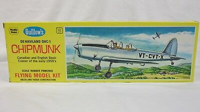 GUILLOWS GUILL903 DHC-1 CHIPMUNK MODEL KIT