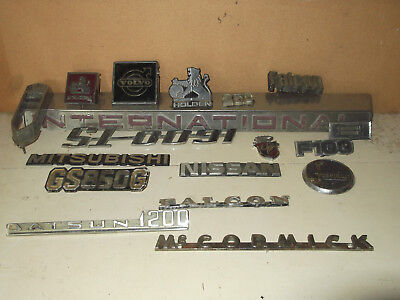 Collection Car Badges