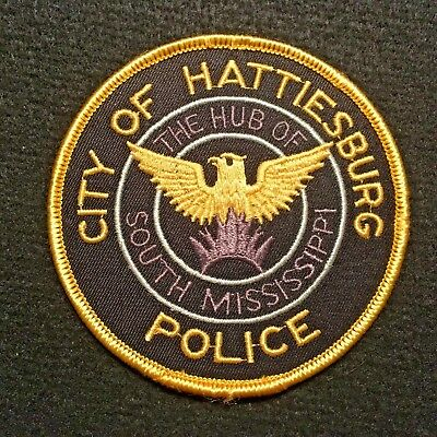 Mississippi - Hattiesburg Police Department Patch The Hub Of South Mississippi